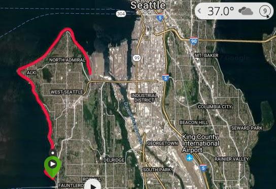 West Seattle Beach 50K & January Training