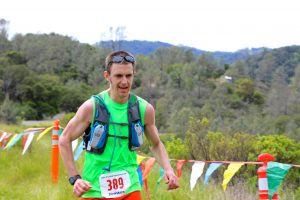 Zach Szablewski trail running racing Lake Sonoma