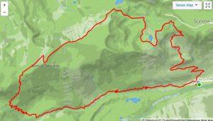 Burroughs Loop hike at Mount Rainier