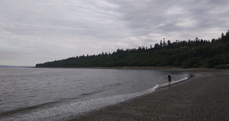 Seattle to Everett Beach Marathon FKT